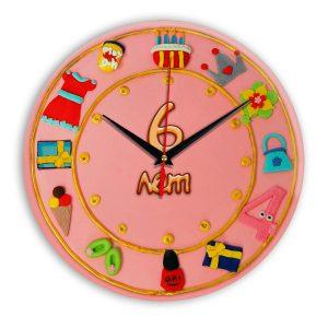 Настенные часы «06-years-old»