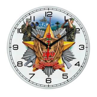 Настенные часы 100 лет пограничным войскам.