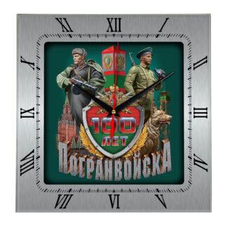 Сувенир – часы 100 лет пограничным войскам