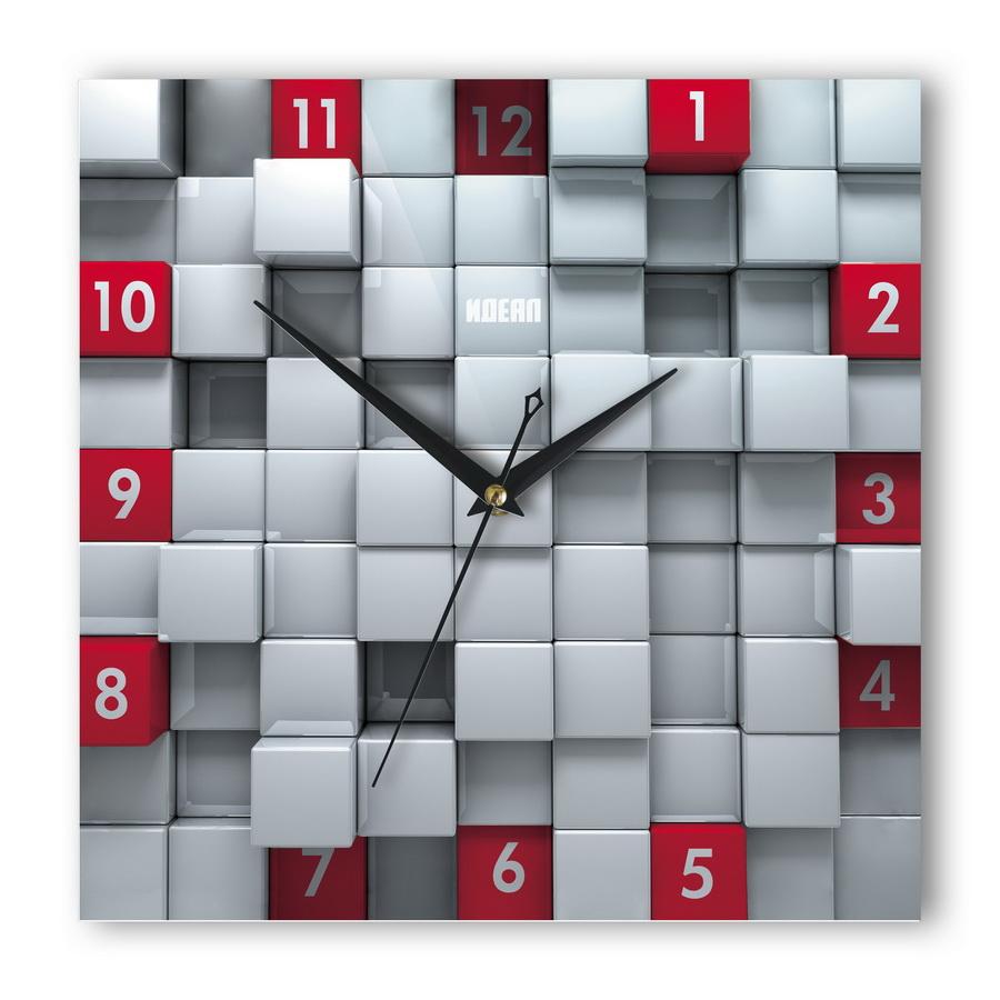 Часы Кубы красные