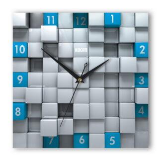 Часы Кубы синие