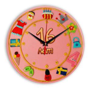 Настенные часы «16-years-old»