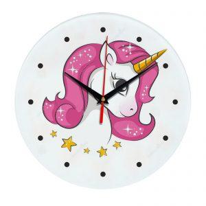 Единорог часы настенные 1rog01-clock