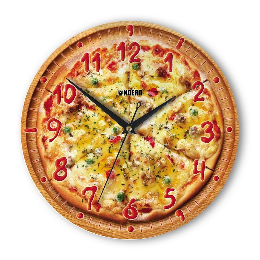 Настенные часы Пицца с томатом