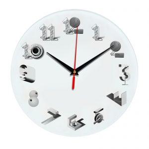 3D часы настенные 327