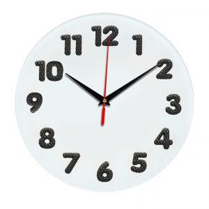 3D часы настенные Кожзам 337