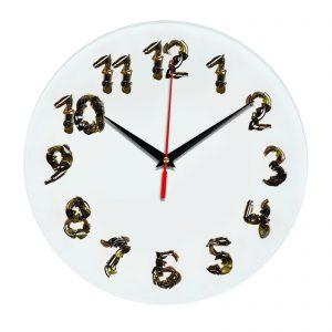 3D часы настенные Битое стекло 346
