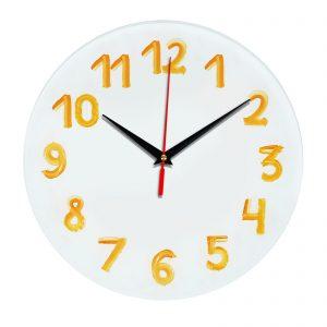 3D часы настенные 348