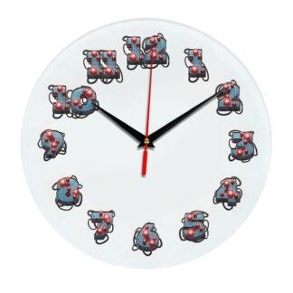 3D часы настенные 349