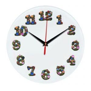 3D часы настенные 350