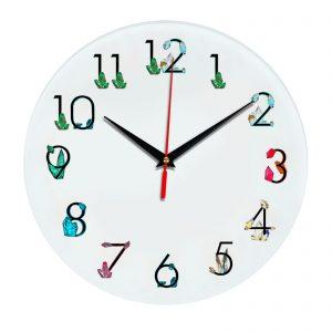 3D часы настенные 374