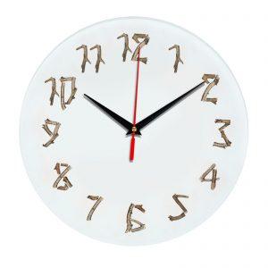 3D часы настенные 379