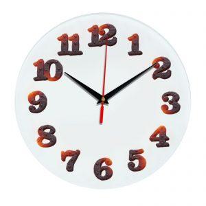 3D часы настенные 387