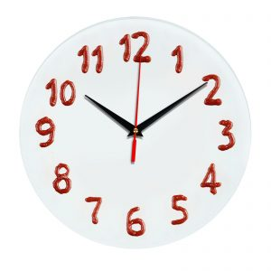3D часы настенные Кетчуп 388