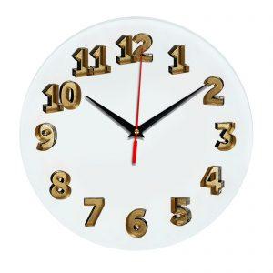 3D часы настенные 398