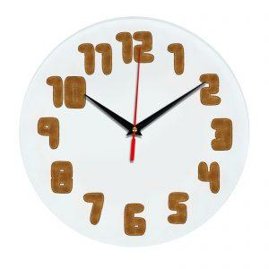 3D часы настенные 418