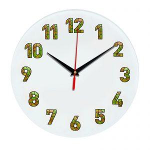 3D часы настенные 435