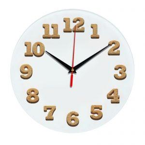 3D часы настенные 443