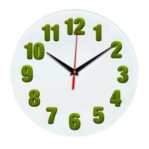 3D часы настенные 448