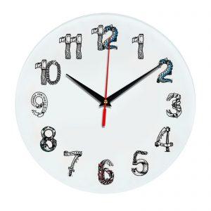 3D часы настенные 462