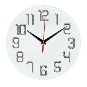 3D часы настенные 468