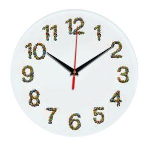 3D часы настенные 470