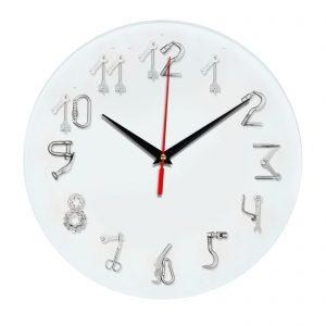 3D часы настенные 491