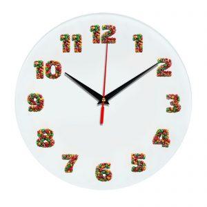 3D часы настенные 493