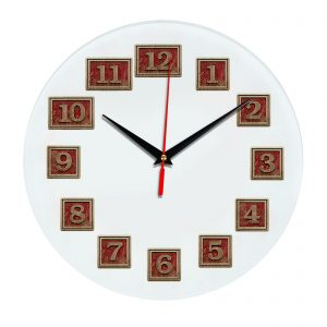 3D часы настенные 498