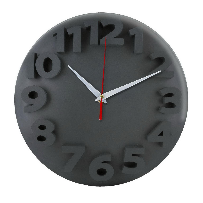 Настенные часы «Тень цифр»