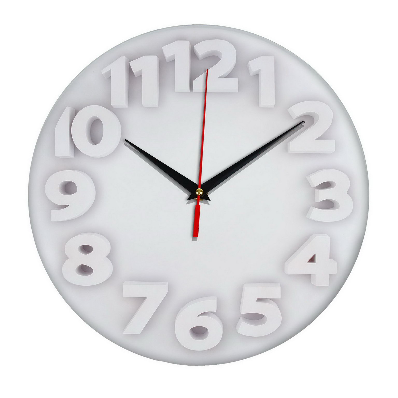 Настенные часы «Свет цифр»