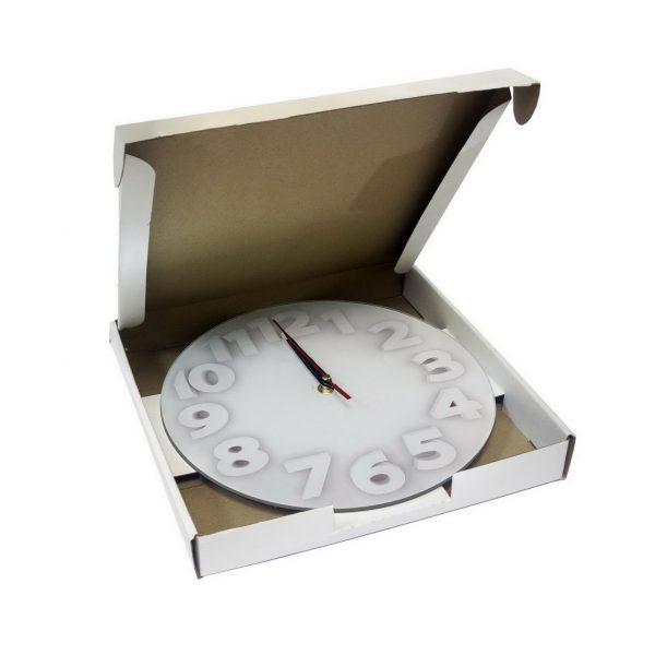 """Настенные часы """"Свет цифр"""""""