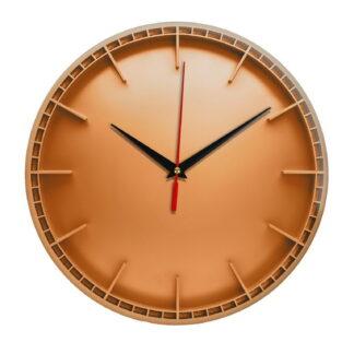 Интерьерные часы «Оранжевый диск»