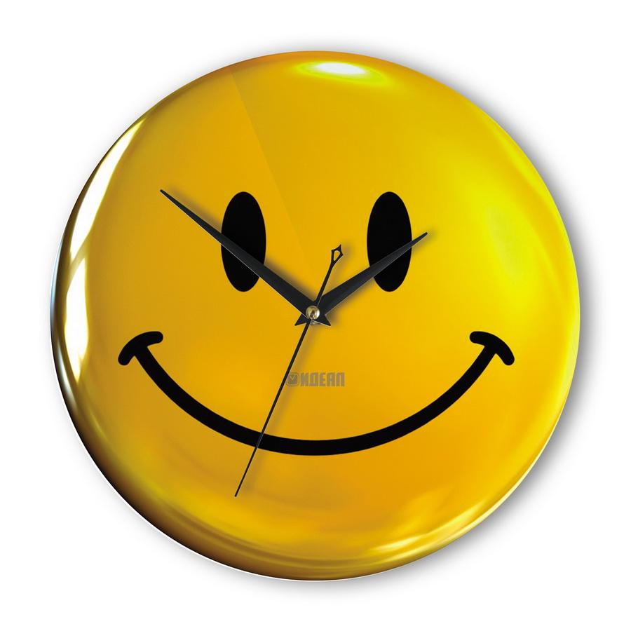 Настенные часы «Смайлик»