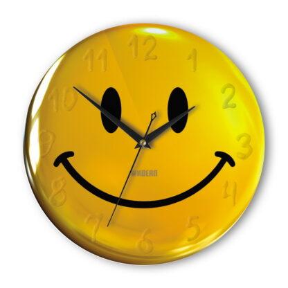часы «Смайлик с цифрами» на стену