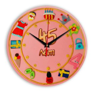 Настенные часы «45-years-old»