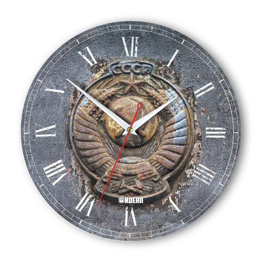 часы с символикой СССР настенные