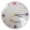 настенные часы с логотипом «Круглые»