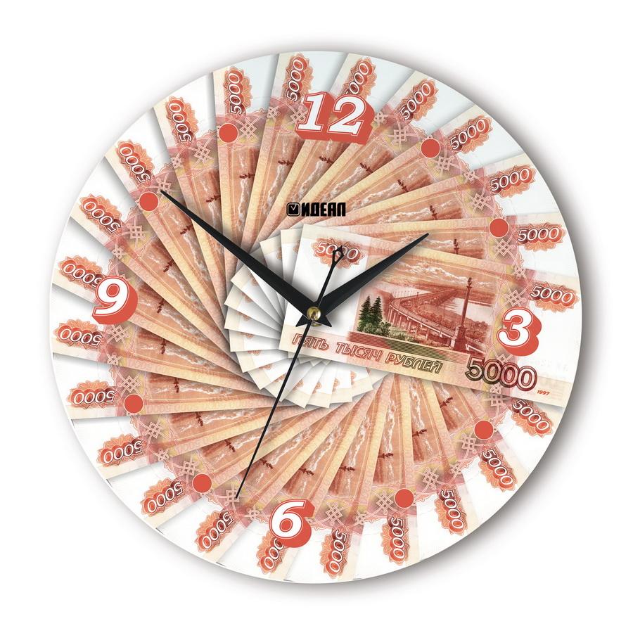 Настенные часы «80 000 рублей»