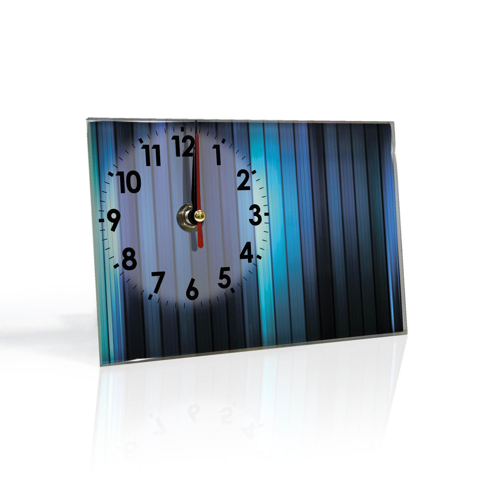 Настольные часы Полоски