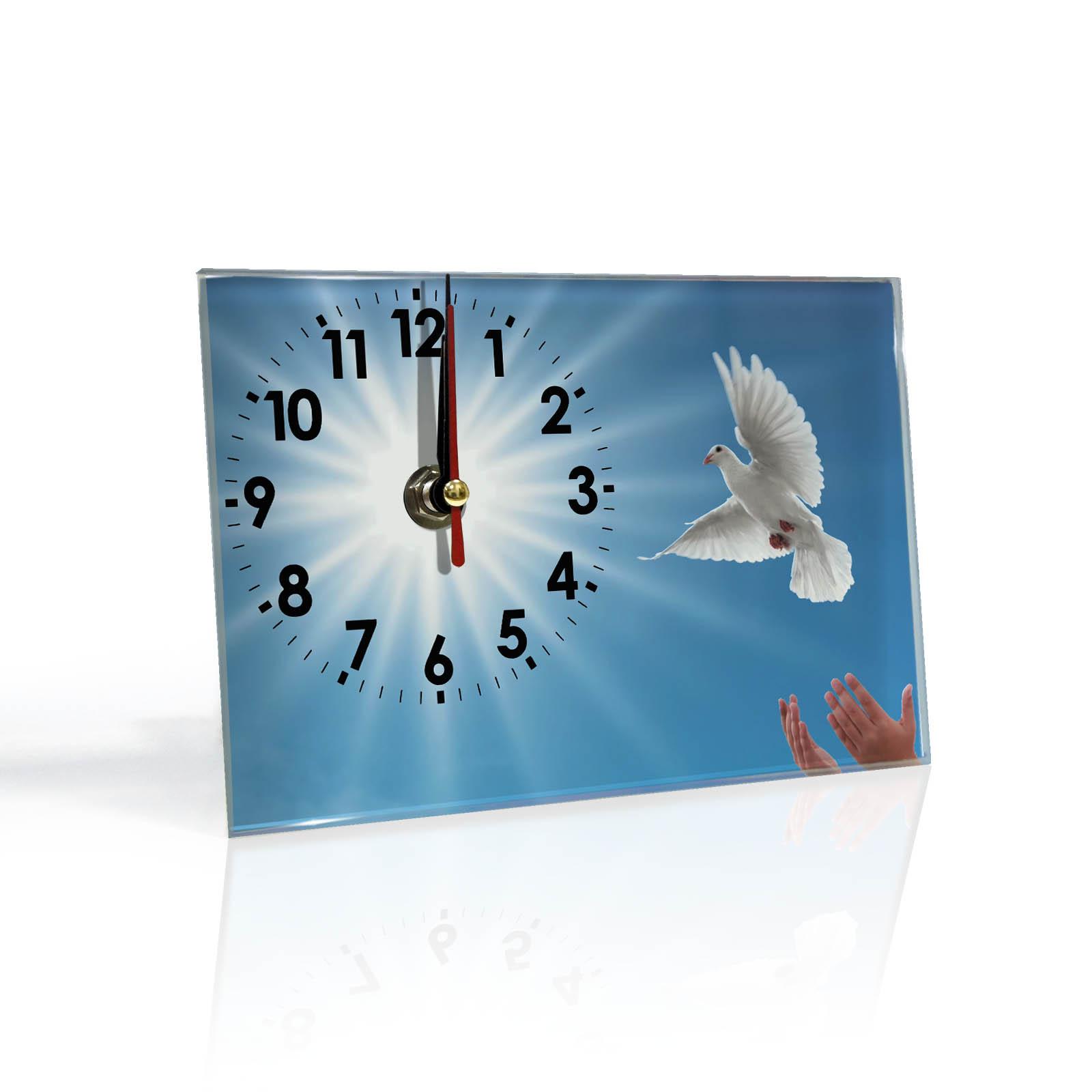Настольные часы Голубь Мира