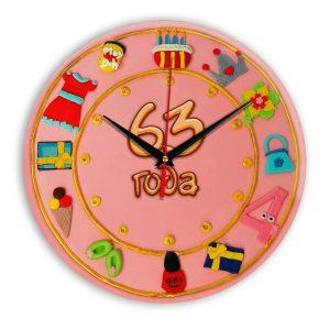 Настенные часы «63-years-old»