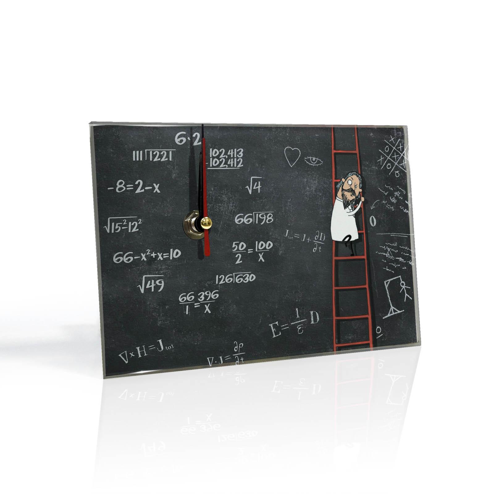 Настольные часы Математика