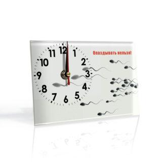Настольные часы Опаздуны