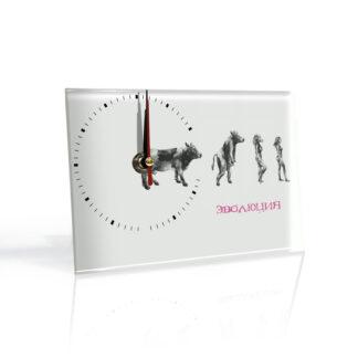 Настольные часы Эволюция девушки