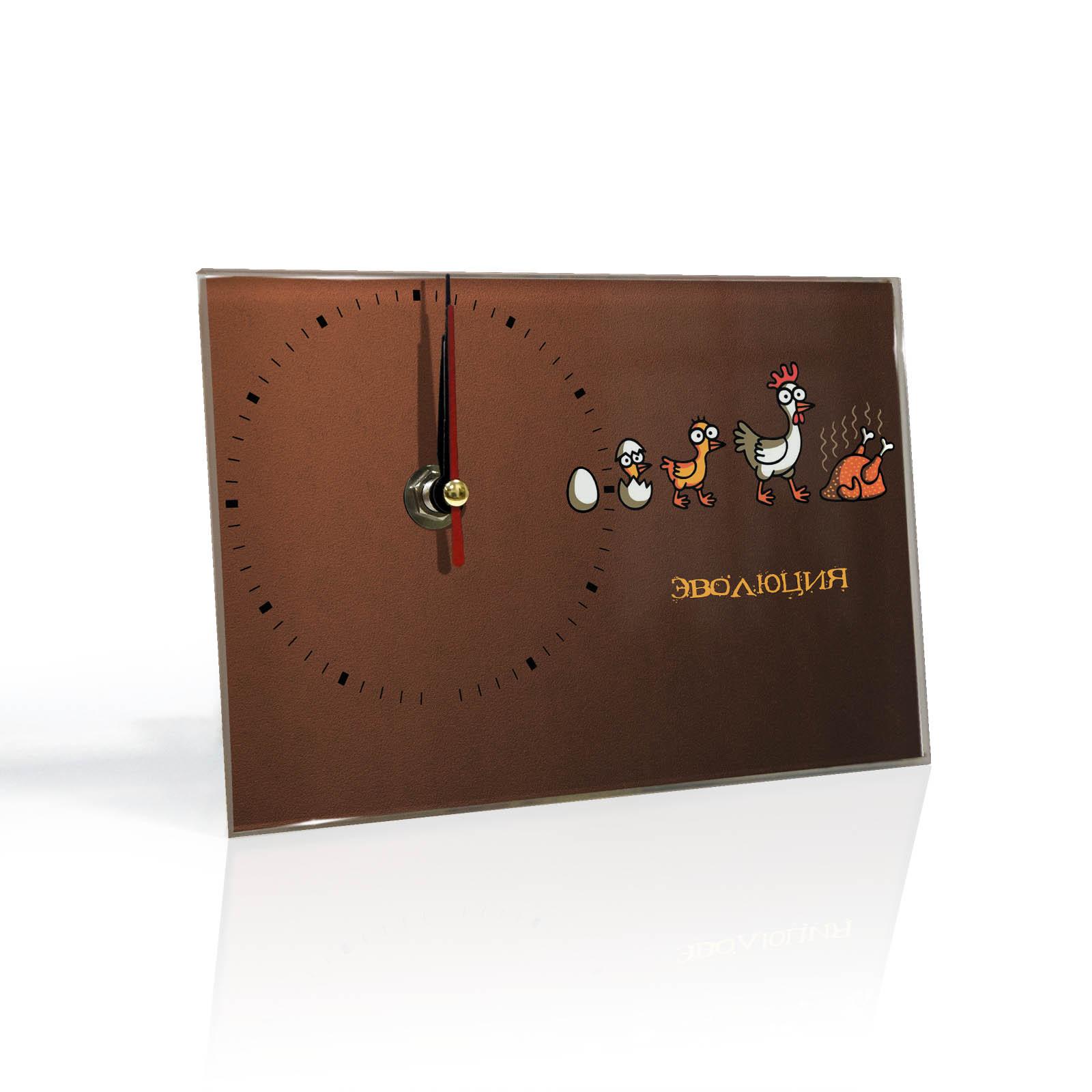 Настольные часы Эволюция гриль