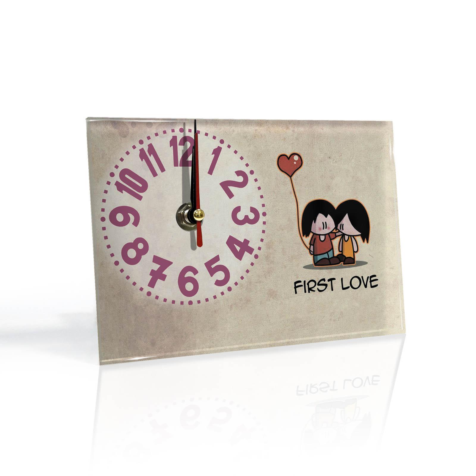 Настольные часы Первая любовь