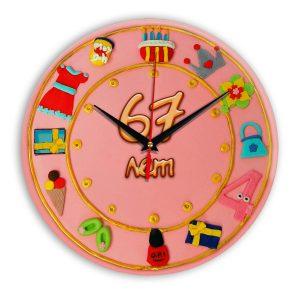 Настенные часы «67-years-old»