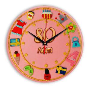 Настенные часы «80-years-old»