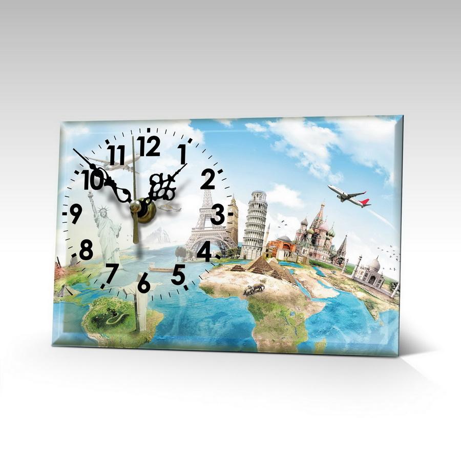 """Часы """"Мир на ладони"""""""